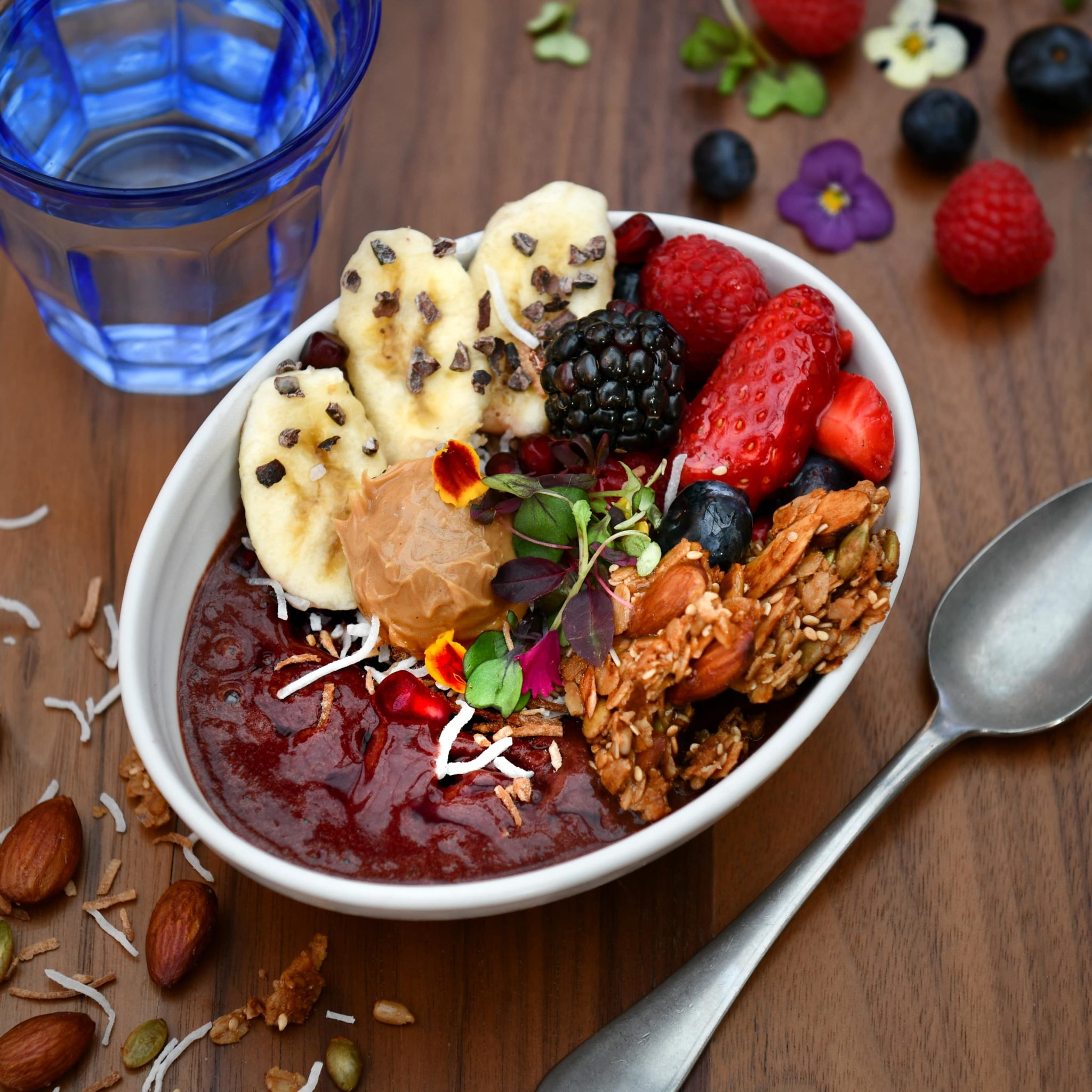 Breakfast Near Me and Winter Park Brunch Menu at The Glass Knife - Acai Bowl