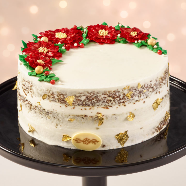 Carrot Christmas Cake - Order Christmas Cakes from The Glass Knife